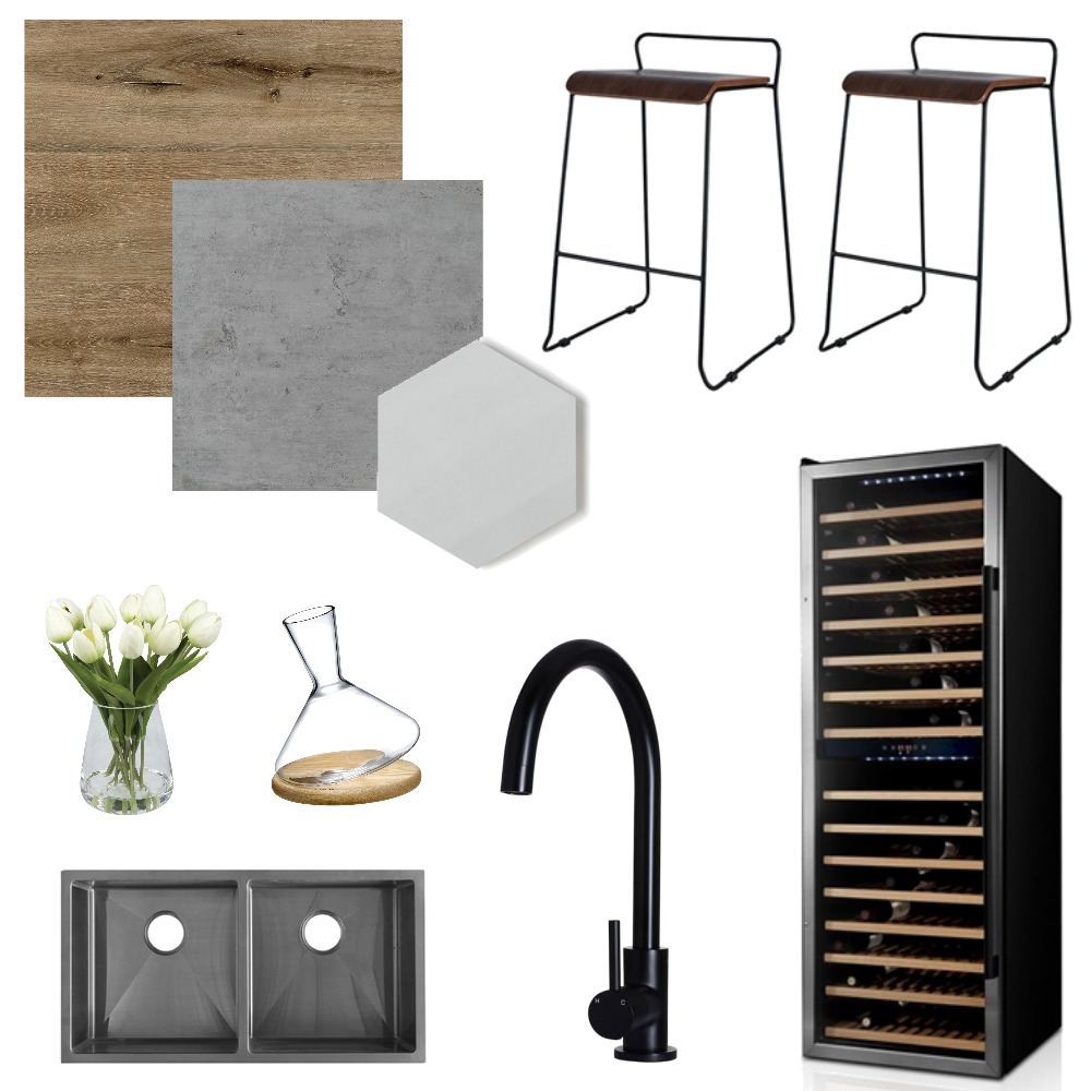 Contemporary Kitchen Mood Board by interiorsbyrae on Style Sourcebook