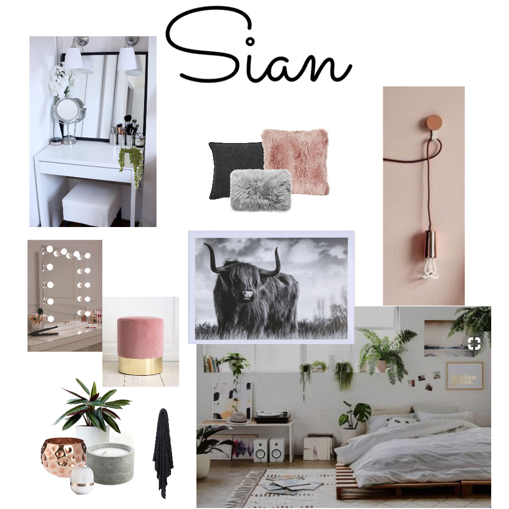 Sian's Bedroom Mood Board by cheryl on Style Sourcebook