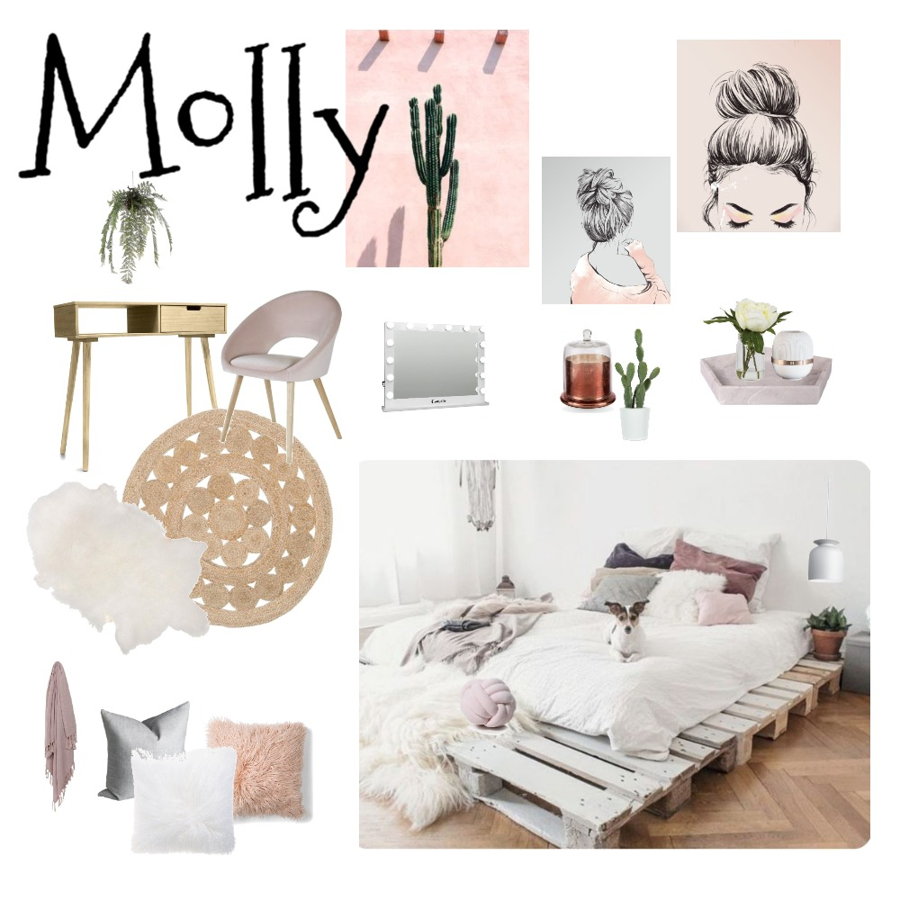 Molly's bedroom Mood Board by cheryl on Style Sourcebook