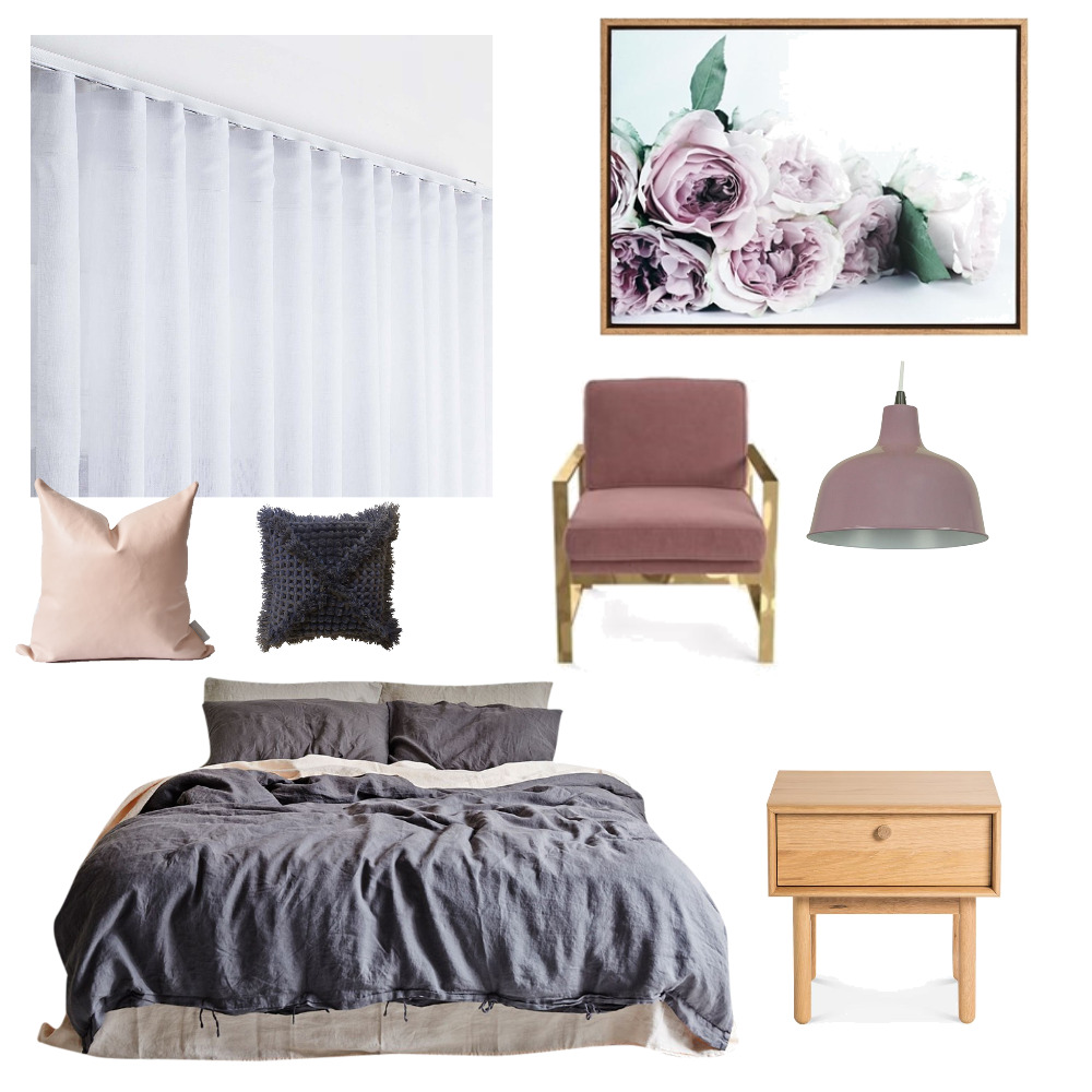 Romantic Bedroom Mood Board by TheBuildersWife on Style Sourcebook