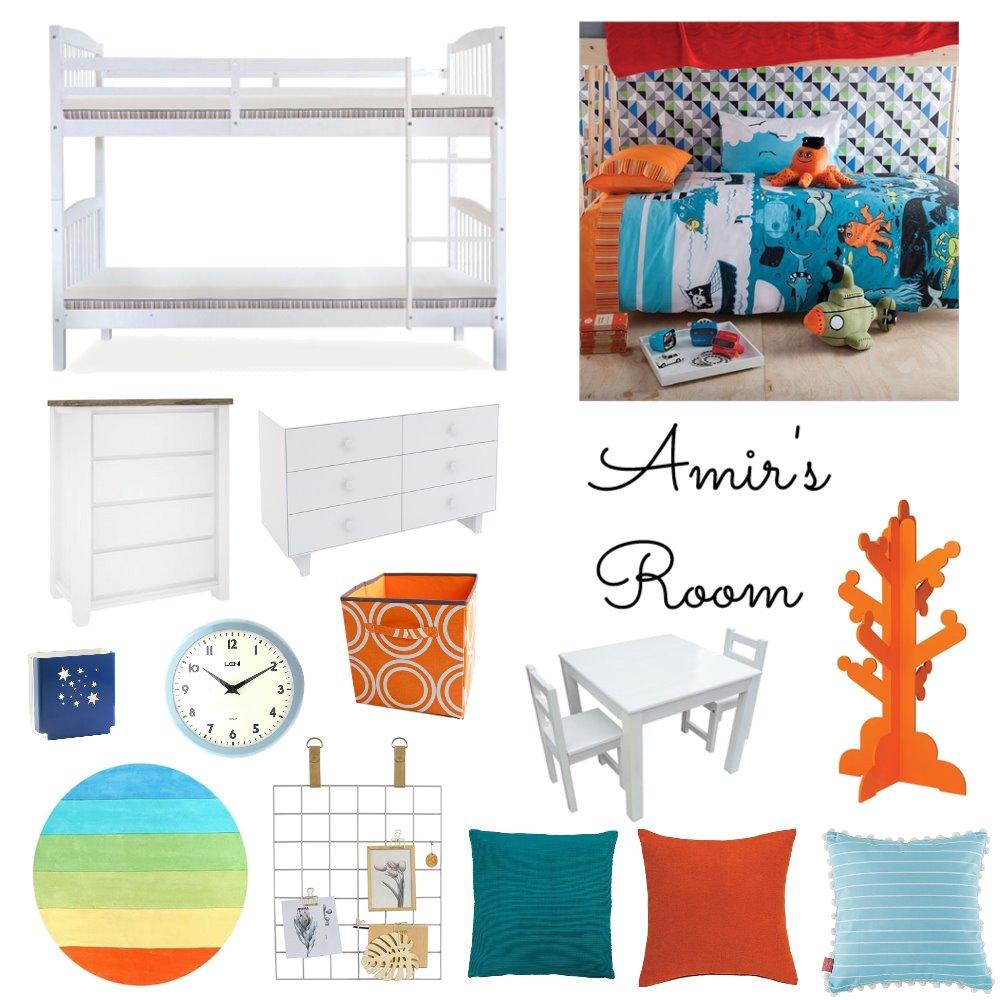 Amir's Bedroom Mood Board by AngelaAyad on Style Sourcebook