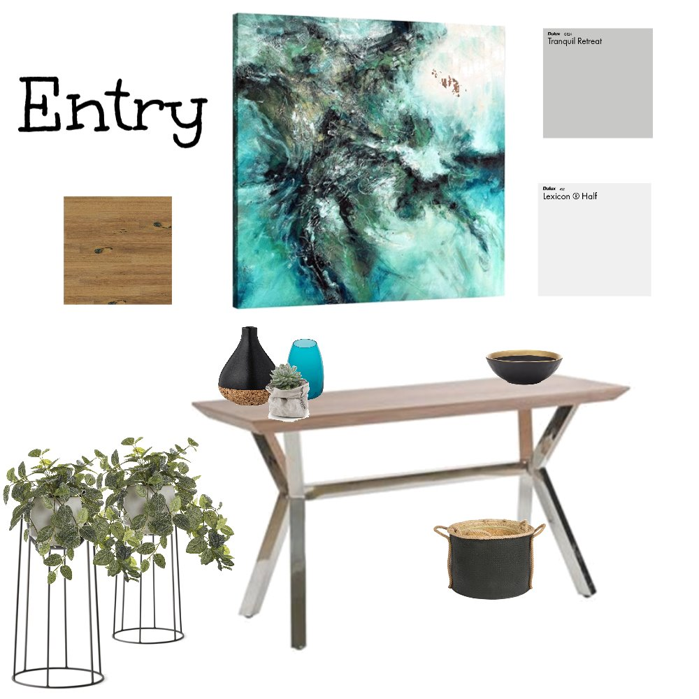Entry Mood Board by AngelaAyad on Style Sourcebook