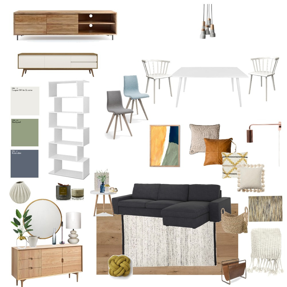 retro living room Mood Board by caropanda on Style Sourcebook