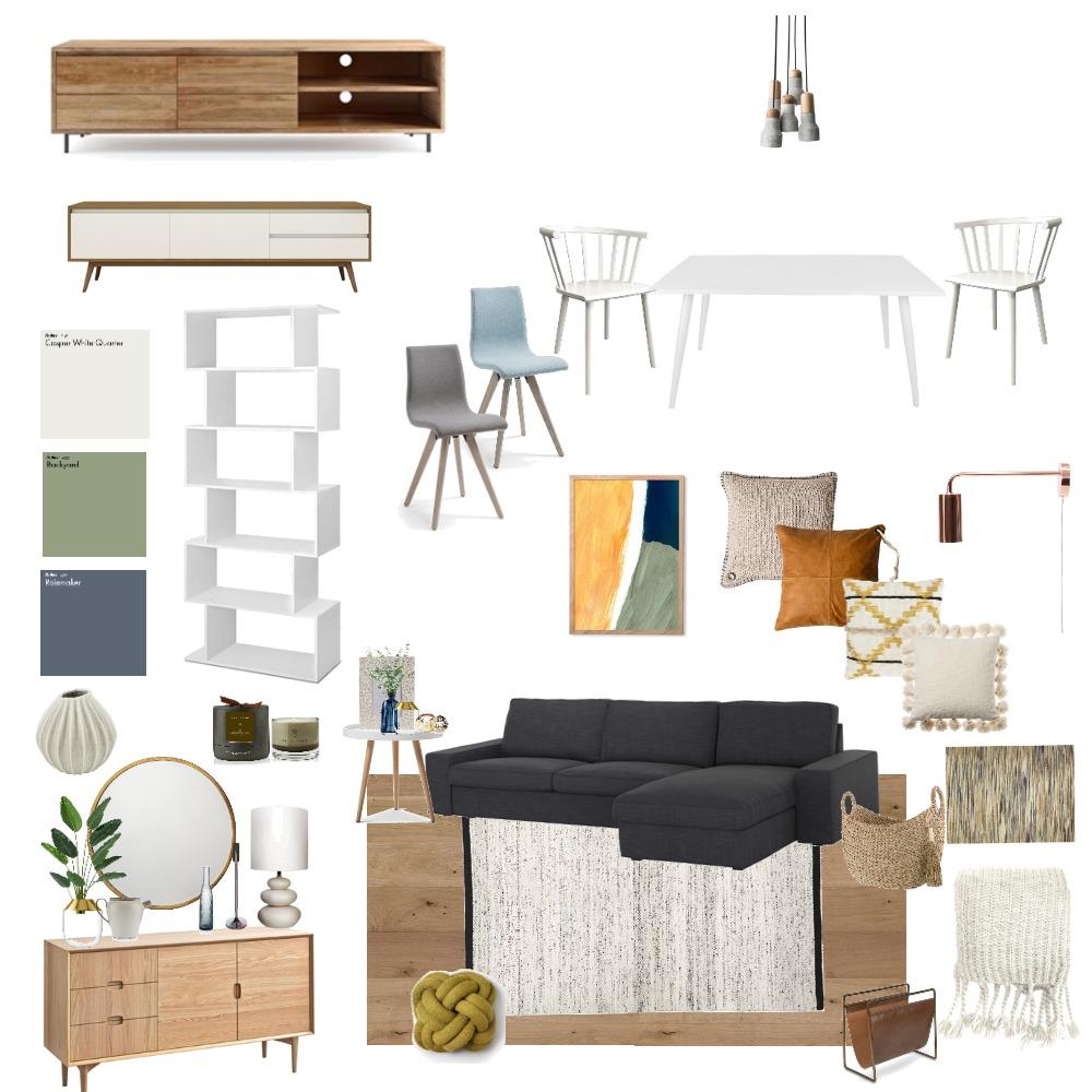 retro living room Interior Design Mood Board by caropanda on Style Sourcebook