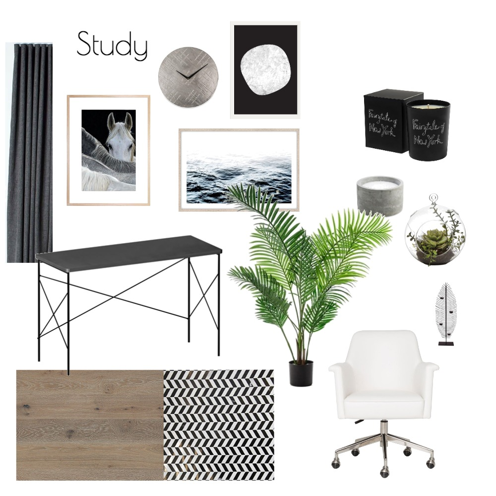 Study Mood Board by fakata on Style Sourcebook