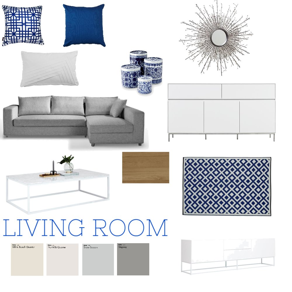 Lounge Room Interior Design Mood Board by nicole.depisol on Style Sourcebook