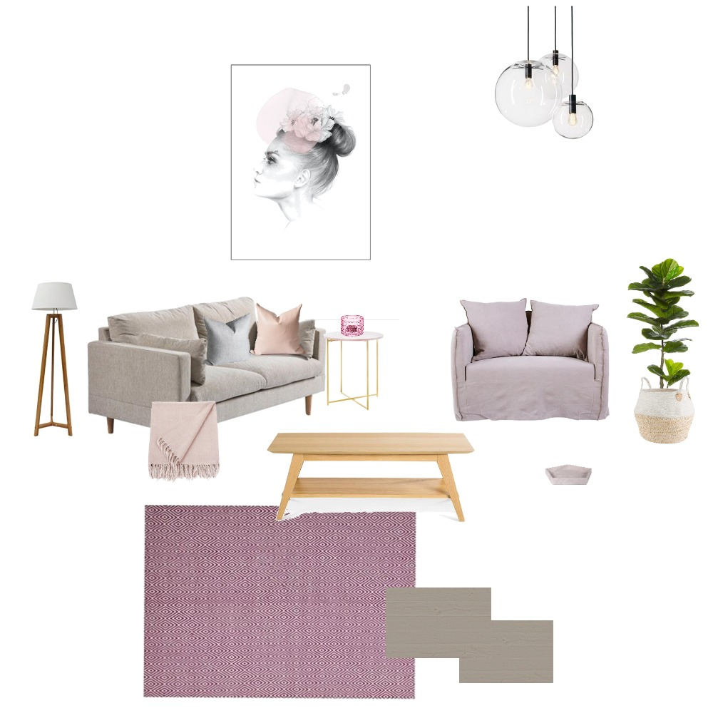 Neutral Living Mood Board by Bel Interior Styling on Style Sourcebook