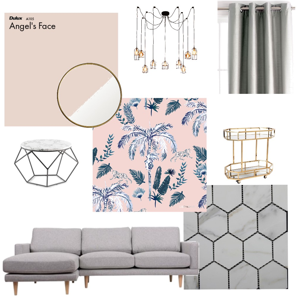 Modern Blush Mood Board by merrygulle on Style Sourcebook
