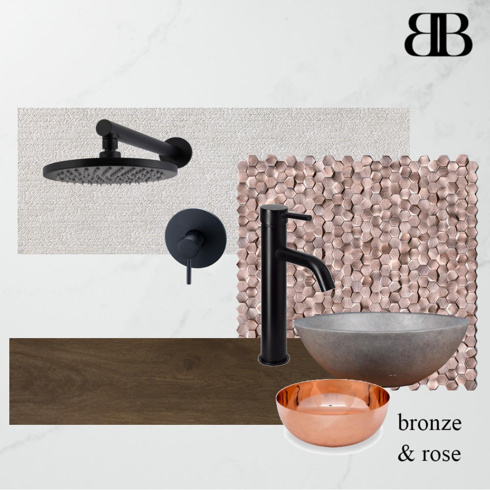 BRONZE AND ROSE Mood Board by BowlesBruna on Style Sourcebook
