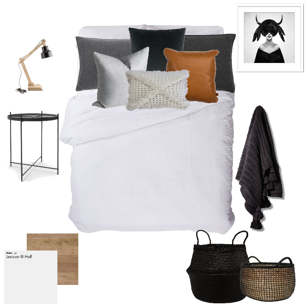 {spareroom #2} Interior Design Mood Board by KatieSansome on Style Sourcebook