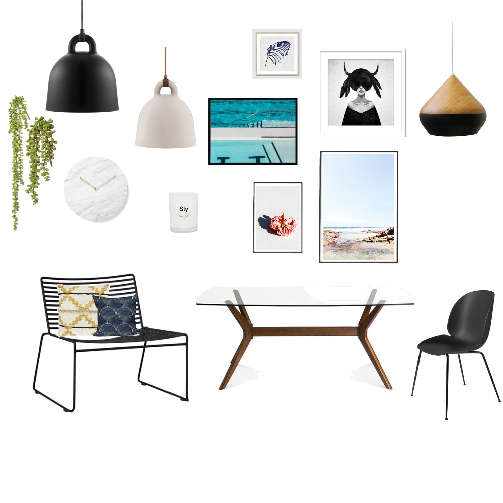 לוח השראה משרד Mood Board by Adva14 on Style Sourcebook