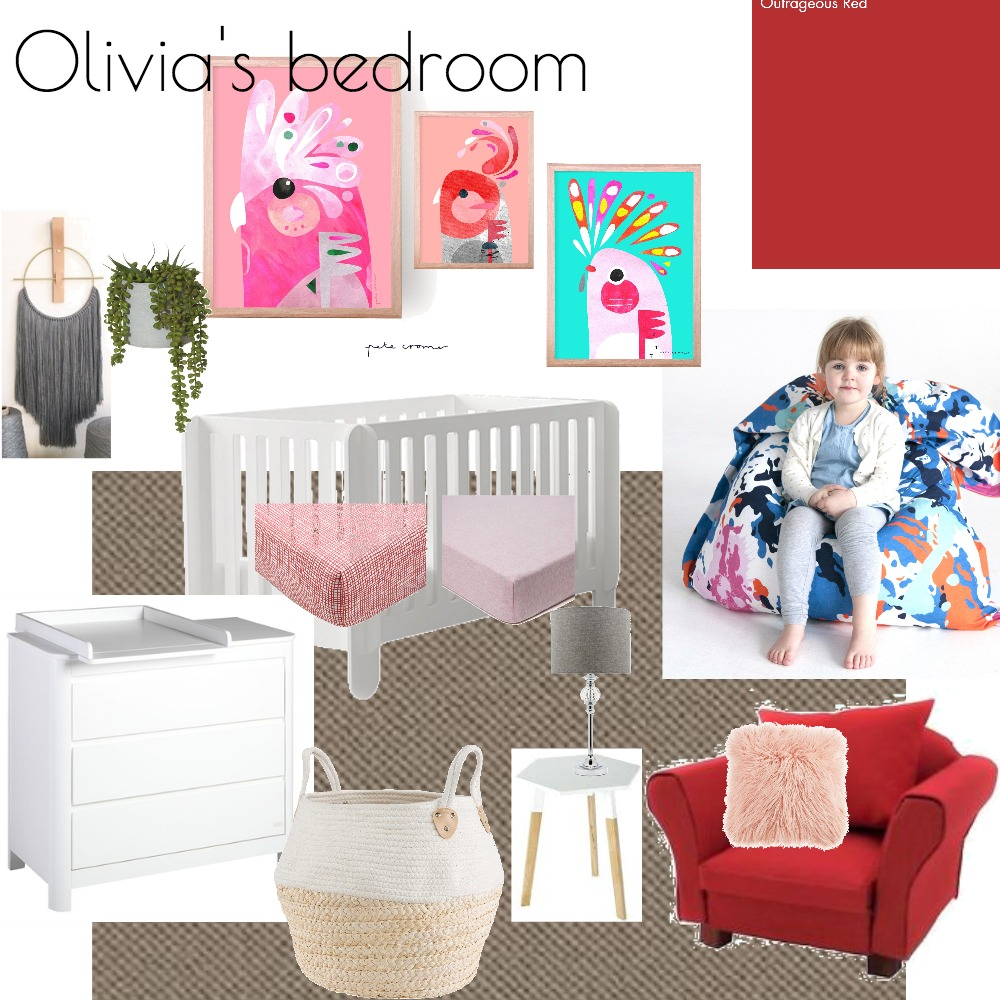 Olivia's Bedroom Mood Board by ldodgshun on Style Sourcebook