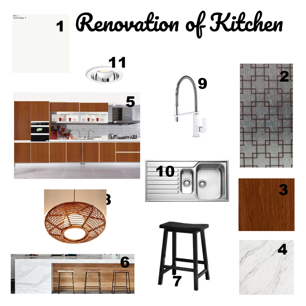 Renovation Kitchen - Assignment 10 Mood Board by XX251188 on Style Sourcebook