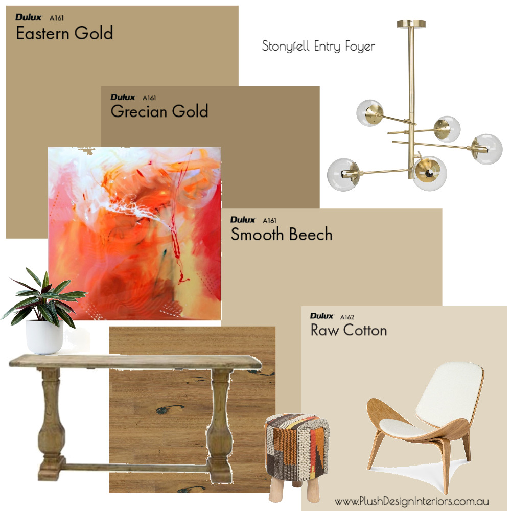Stonyfell Entry Foyer Mood Board by Plush Design Interiors on Style Sourcebook