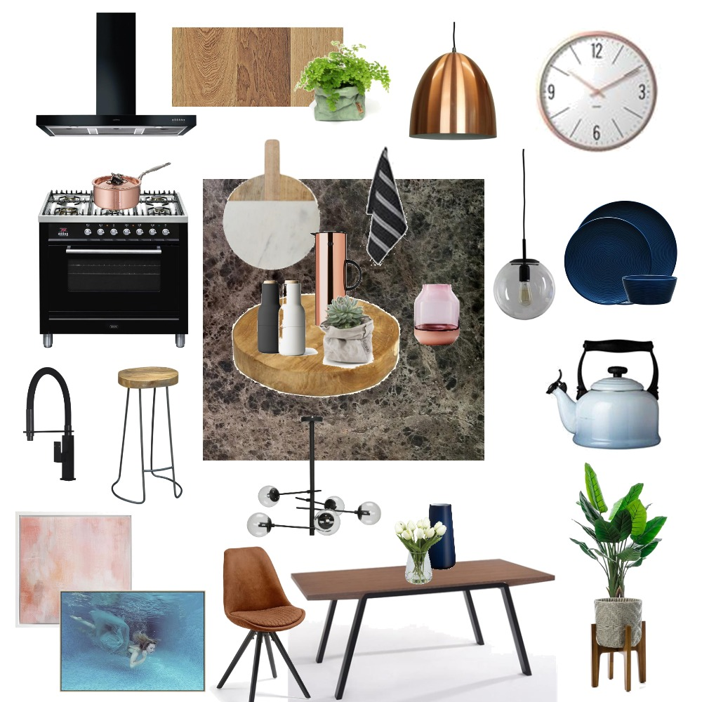 Kitchen Remodeling Interior Design Mood Board by ALENKA INTERIORS on Style Sourcebook