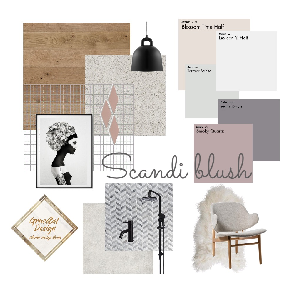 Scandi trend Interior Design Mood Board by GRACE LANGLEY INTERIORS on Style Sourcebook