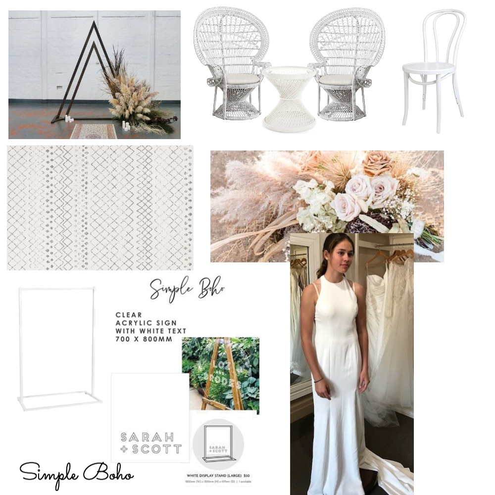 Simple Boho Mood Board by modernlovestyleco on Style Sourcebook