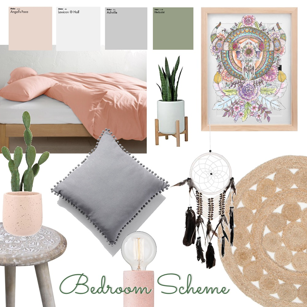 Bedroom Mood Board by thebohemianstylist on Style Sourcebook