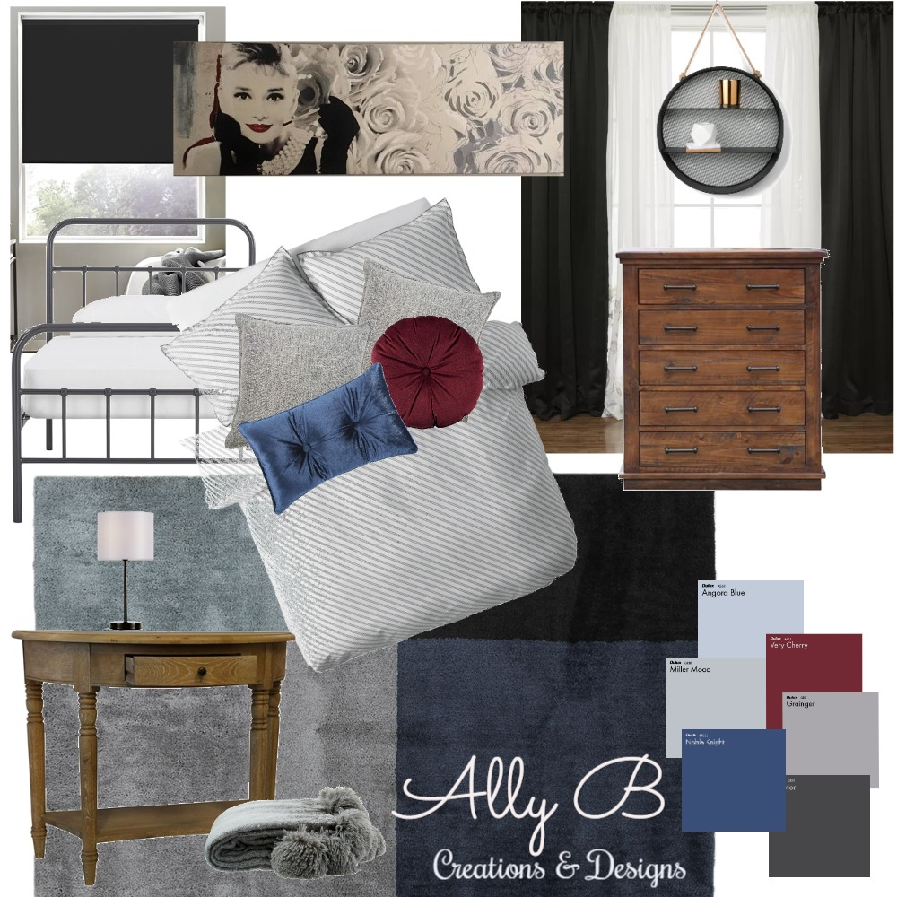 Stenner Street - Guest Bedroom Mood Board by allyb on Style Sourcebook