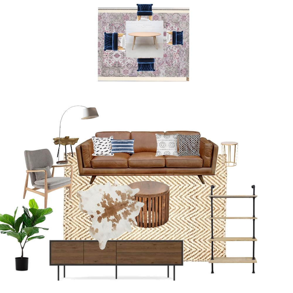 Living/Dining Room Mood Board by bheitman on Style Sourcebook