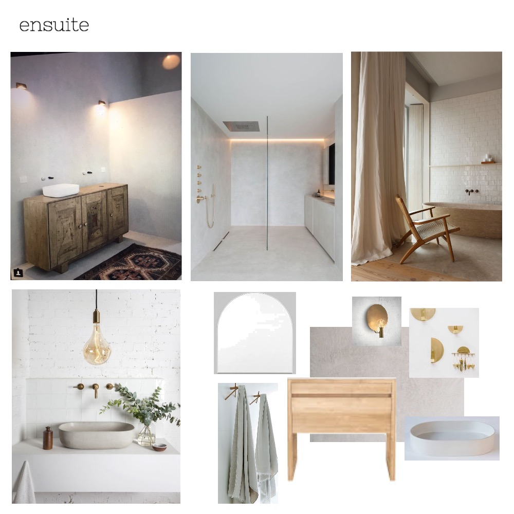 kat ensuite Mood Board by The Secret Room on Style Sourcebook