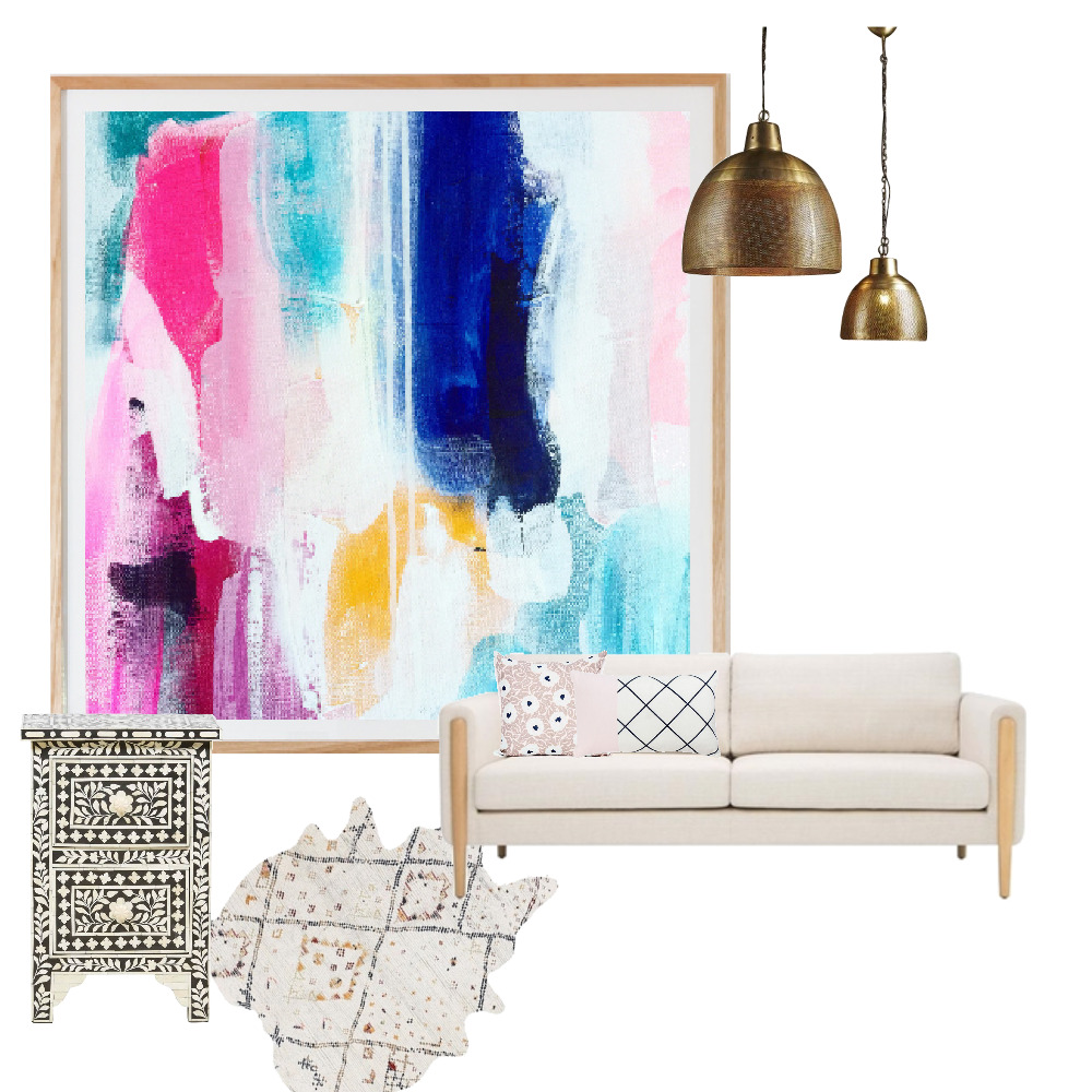 Boho Pink Mood Board by tclcarol on Style Sourcebook
