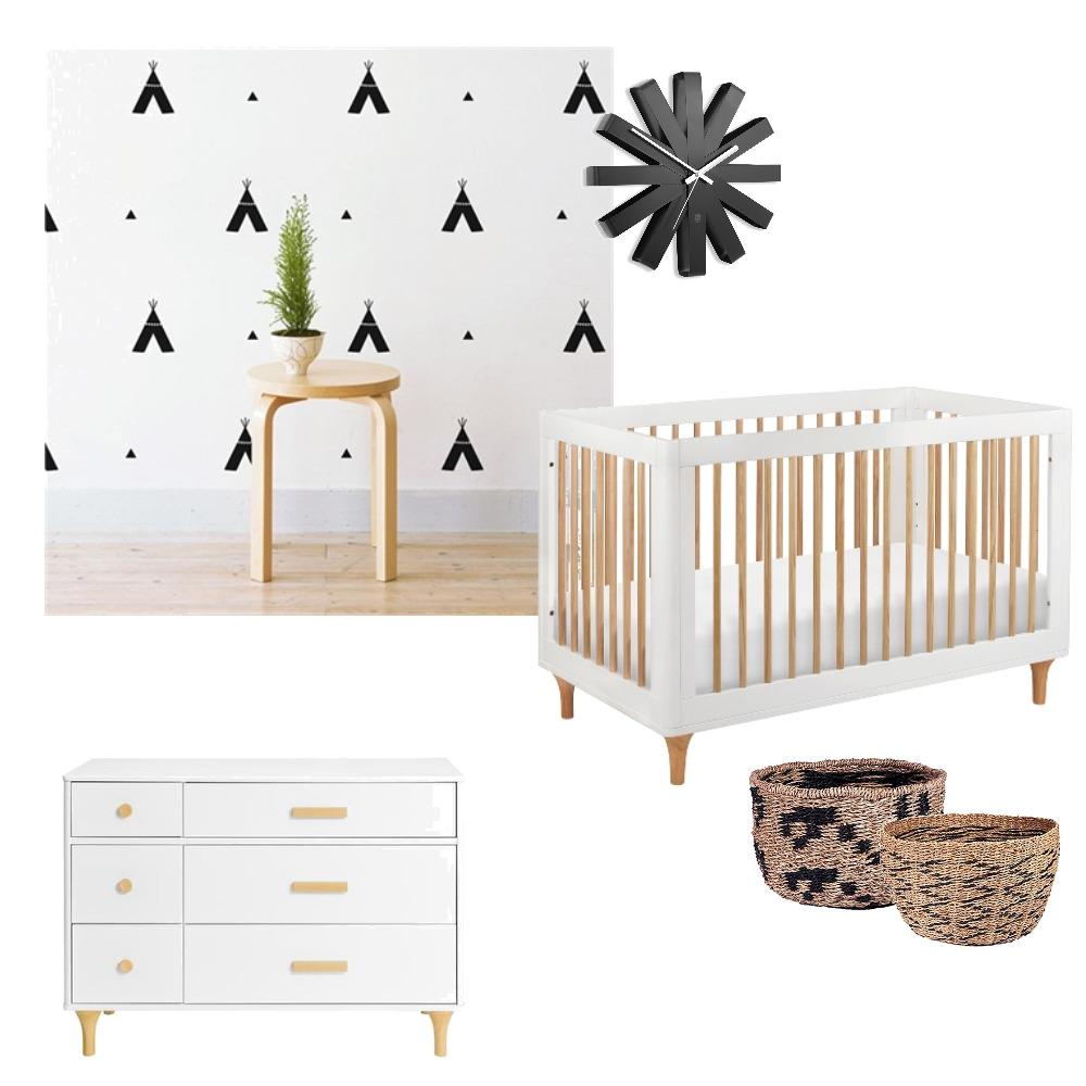 Nursery - Monochrome Minimalist Mood Board by tclcarol on Style Sourcebook