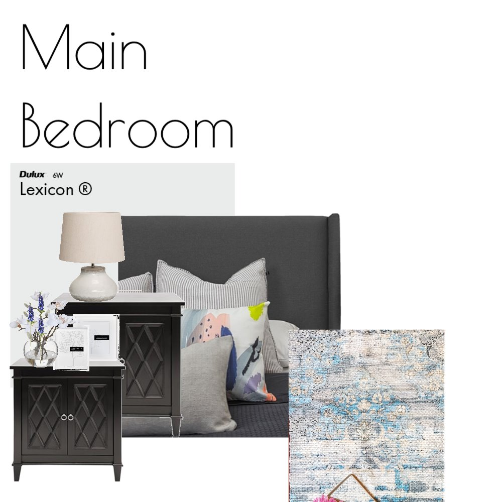 Main bedroom Interior Design Mood Board by MishJo on Style Sourcebook