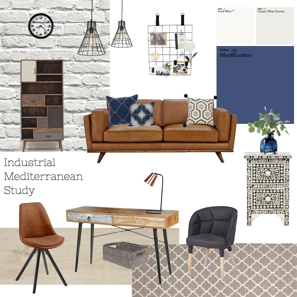 Study Mood Board by chrissiesoriano on Style Sourcebook