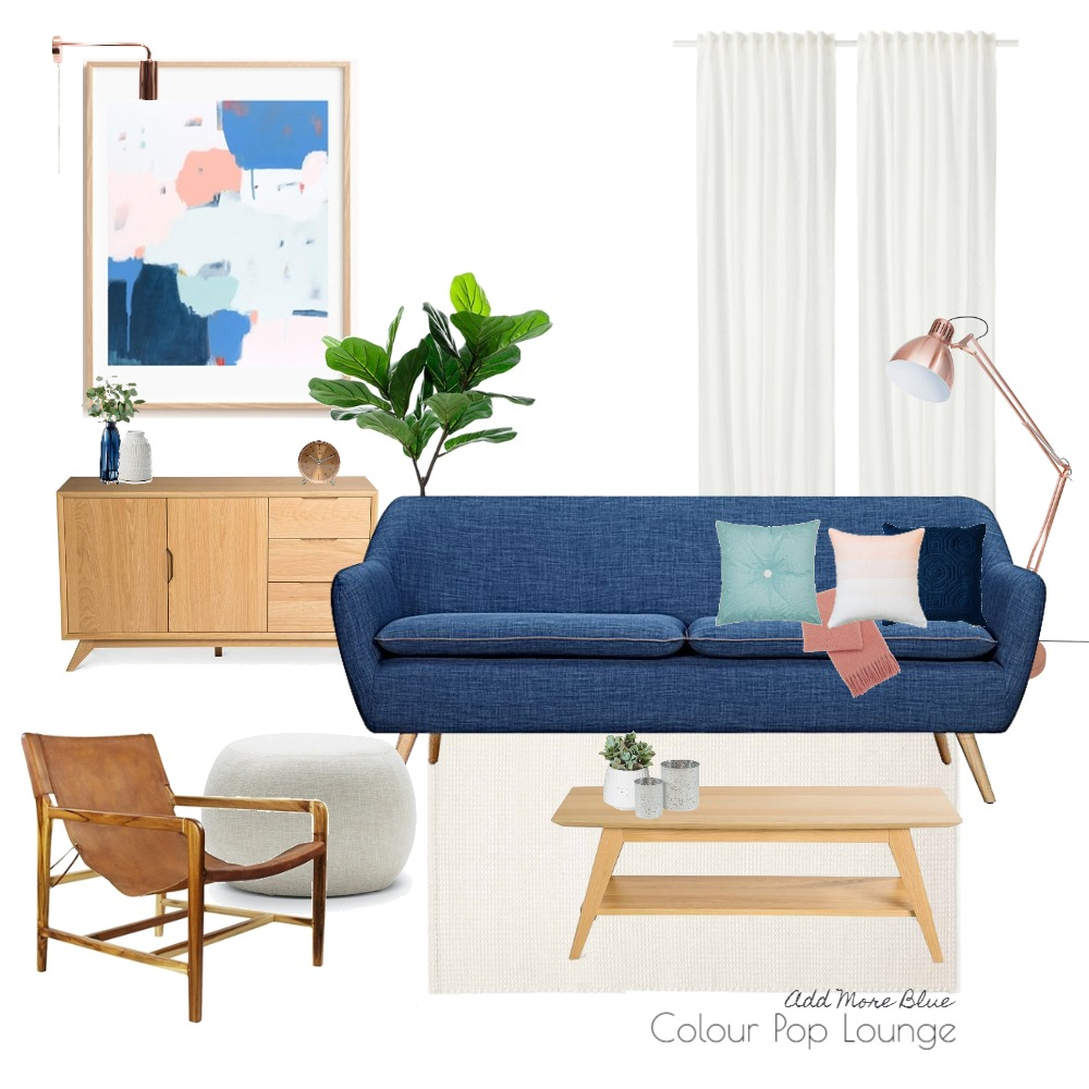 Colour Pop Lounge Mood Board by Michelle Finch on Style Sourcebook