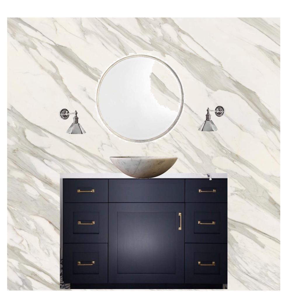 Bathroom  Navy Vanity Mood Board by Third Layer Interiors  on Style Sourcebook