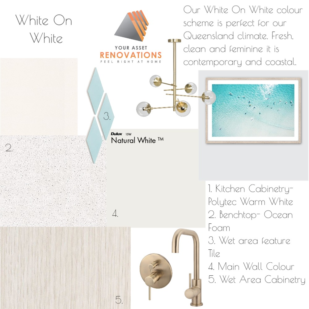YAR White On White Interior Design Mood Board by mooloolaba_lifestyle on Style Sourcebook