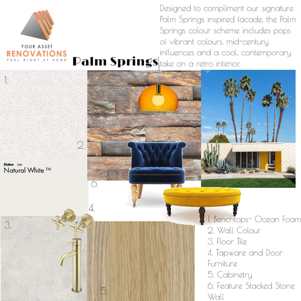 YAR Palm Springs Mood Board by mooloolaba_lifestyle on Style Sourcebook