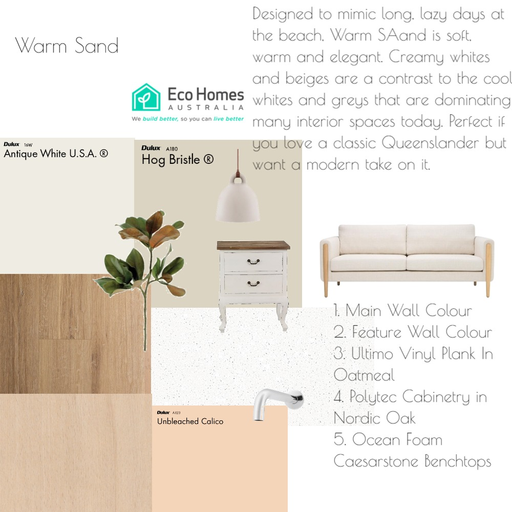 EHA Warm Sand Mood Board by mooloolaba_lifestyle on Style Sourcebook