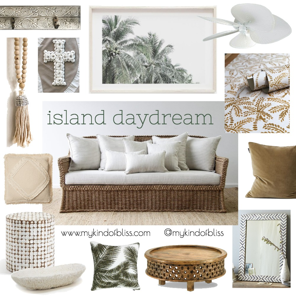 Island Daydream Mood Board by My Kind Of Bliss on Style Sourcebook