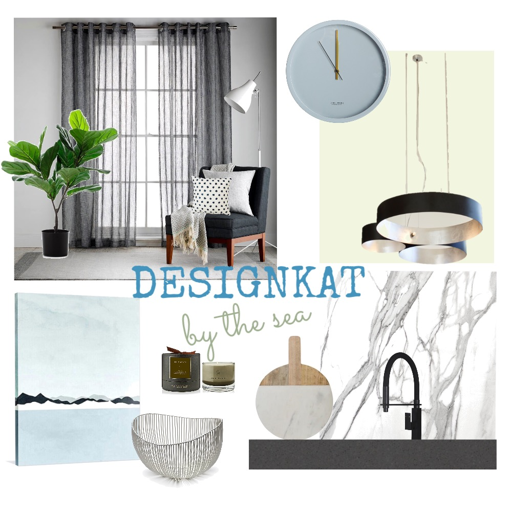 By the sea Mood Board by DesignKat on Style Sourcebook