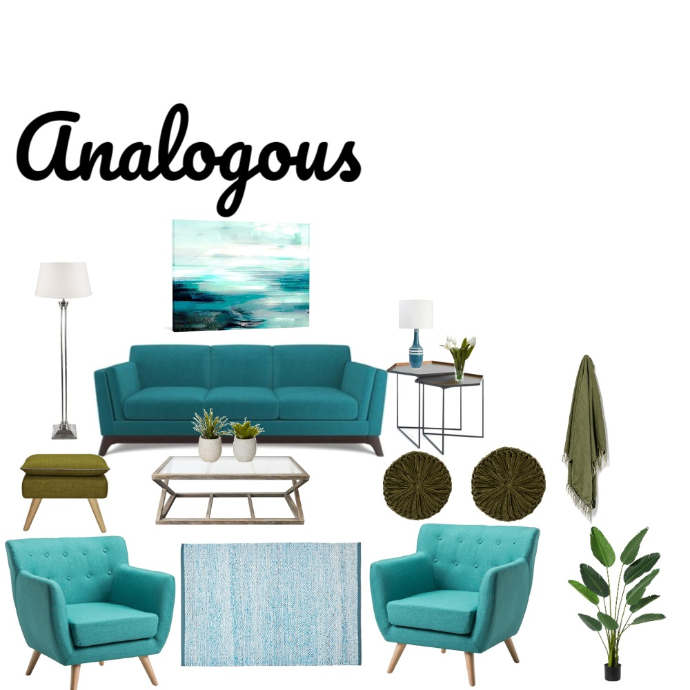 Analogous Mood Board by wlore on Style Sourcebook