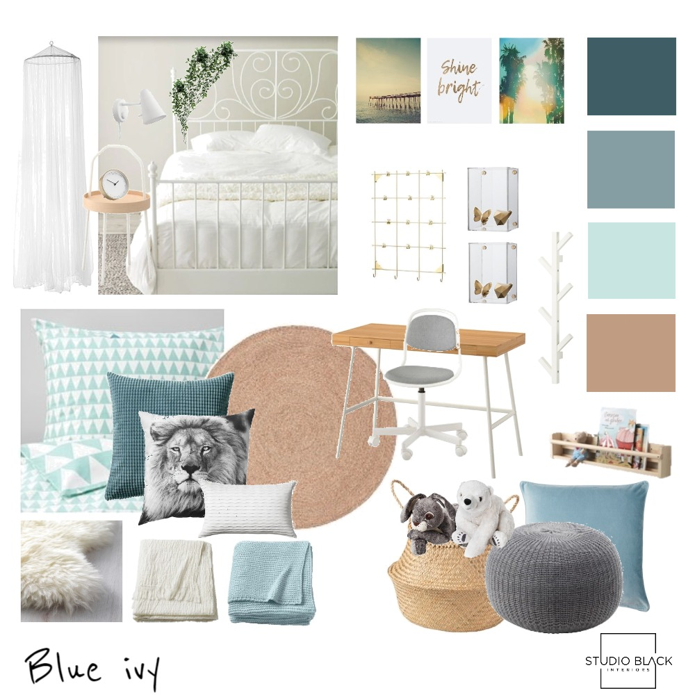 Blue Ivy Mood Board by Studio Black Interiors on Style Sourcebook