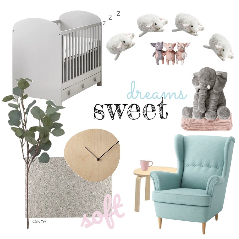 Nursery Mood Board by AndrewAnthony on Style Sourcebook