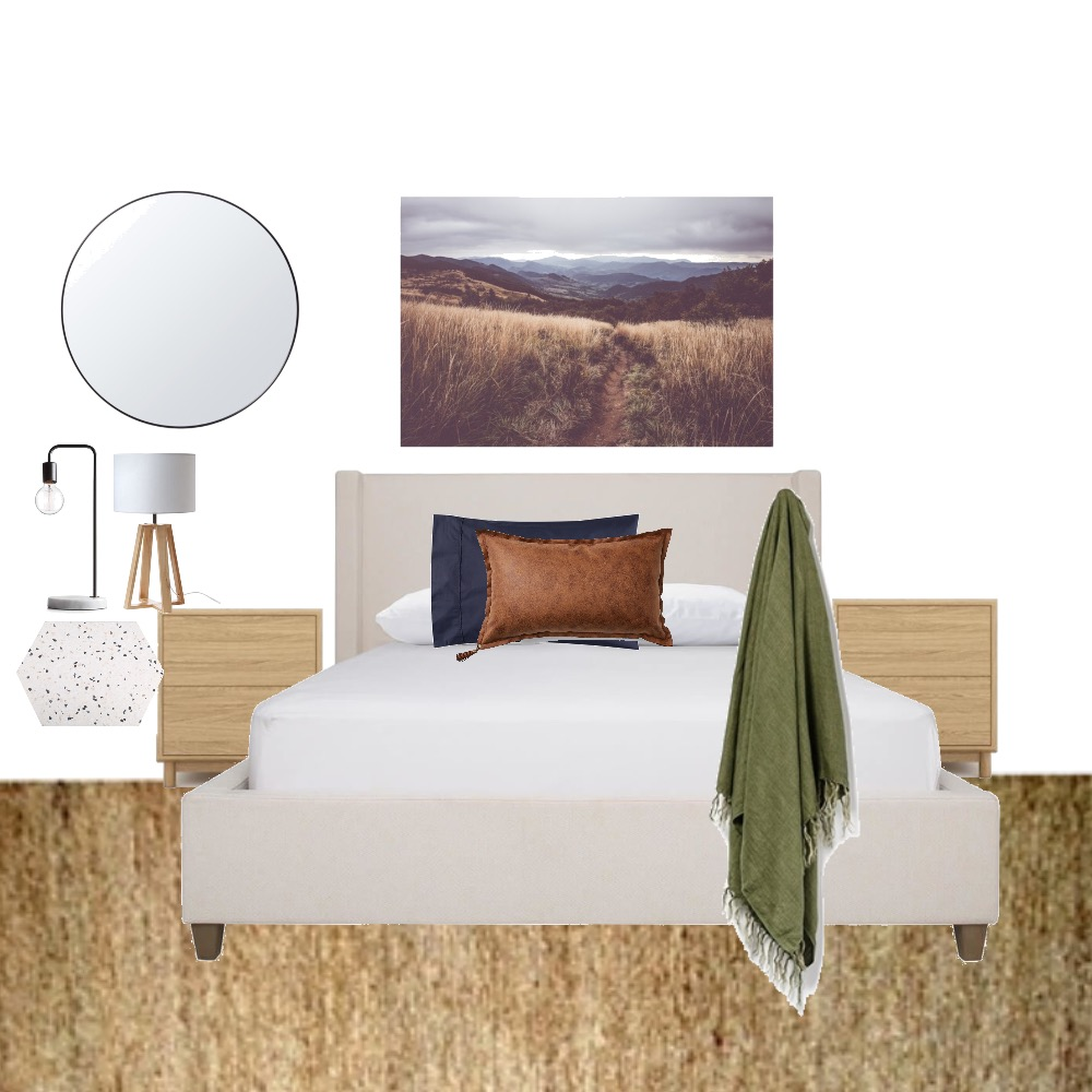 Bed 1 Mood Board by Studio of Design on Style Sourcebook