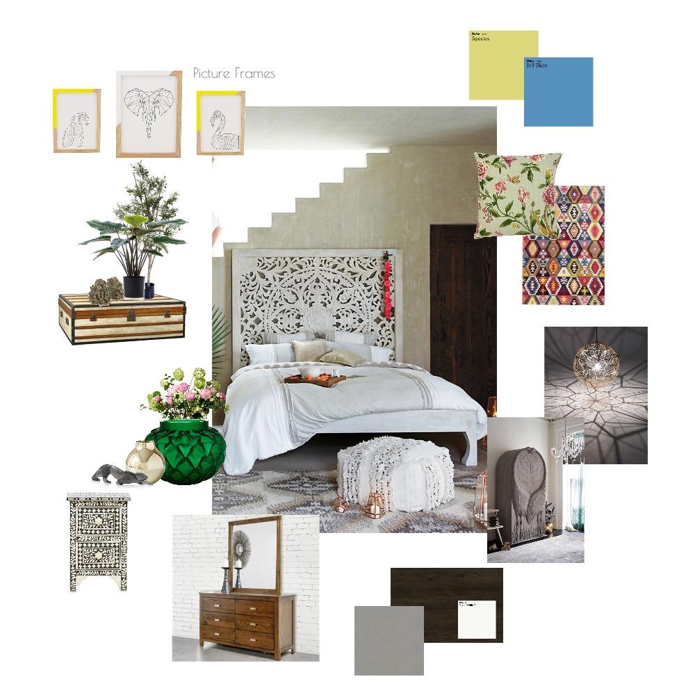 bedroom Interior Design Mood Board by Hafsha on Style Sourcebook