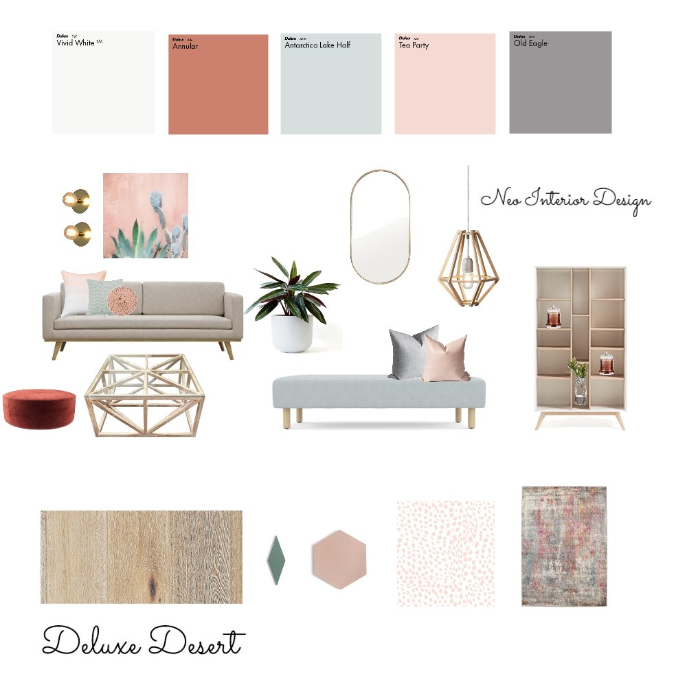 Deluxe Desert Mood Board by Neo Interior Design Perth on Style Sourcebook