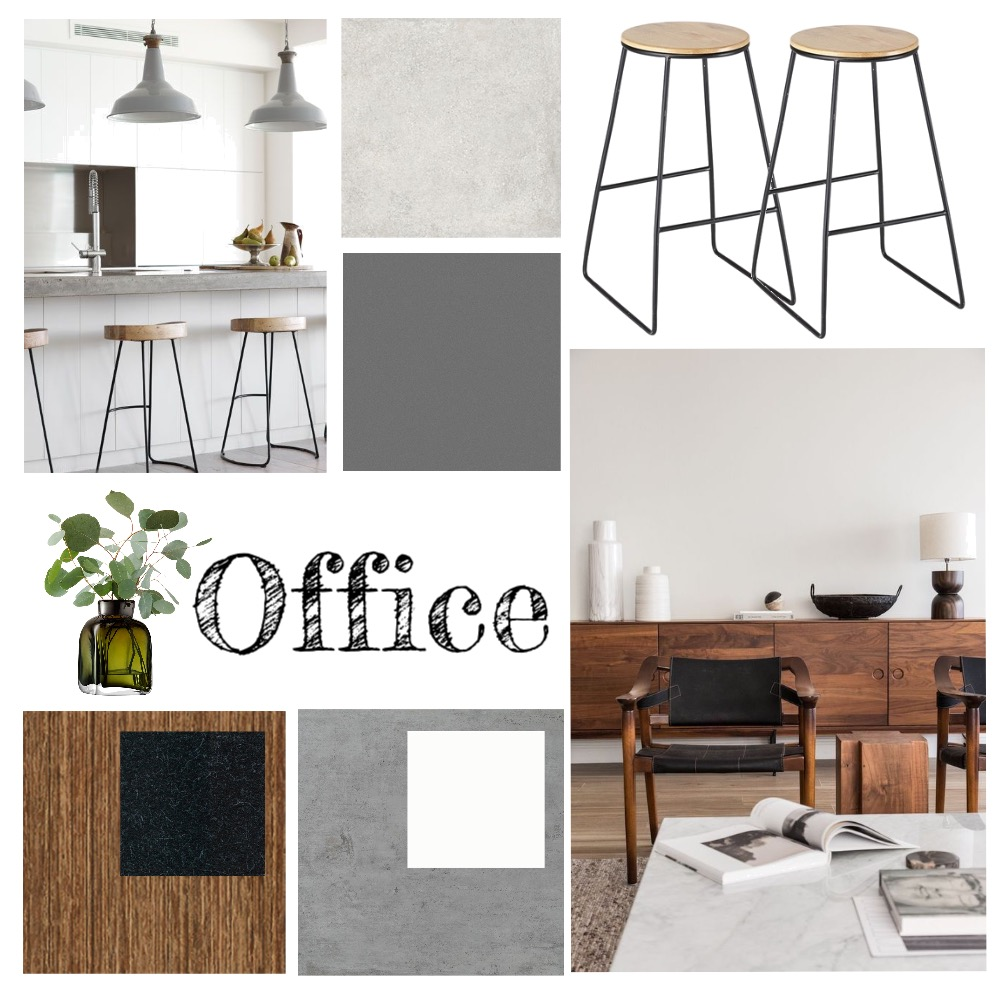 Indigo's Office Mood Board by hunterandhawk on Style Sourcebook