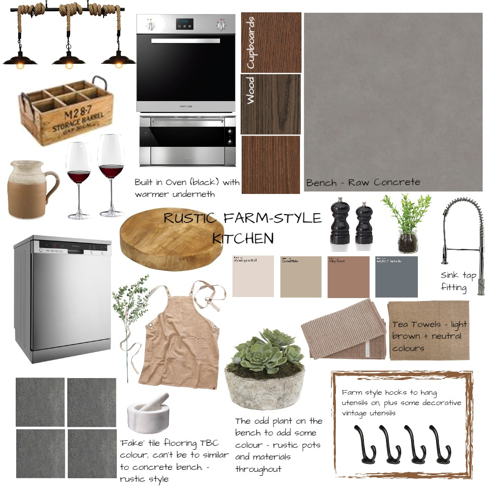 Mum's Kitchen - Mood Board #1 Mood Board by designbyelise on Style Sourcebook