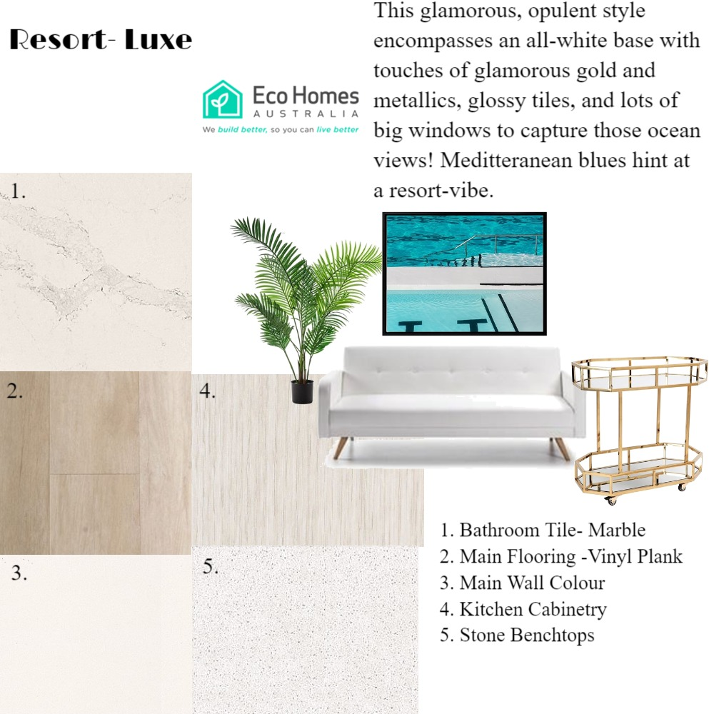 EHA Resort Luxe Mood Board by mooloolaba_lifestyle on Style Sourcebook