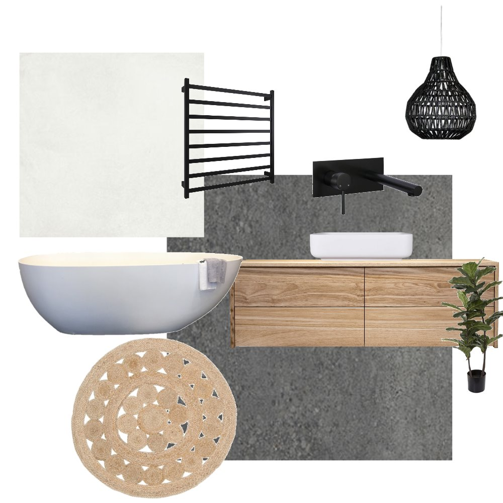 Ensuite Mood Board by thehouseofreeve on Style Sourcebook