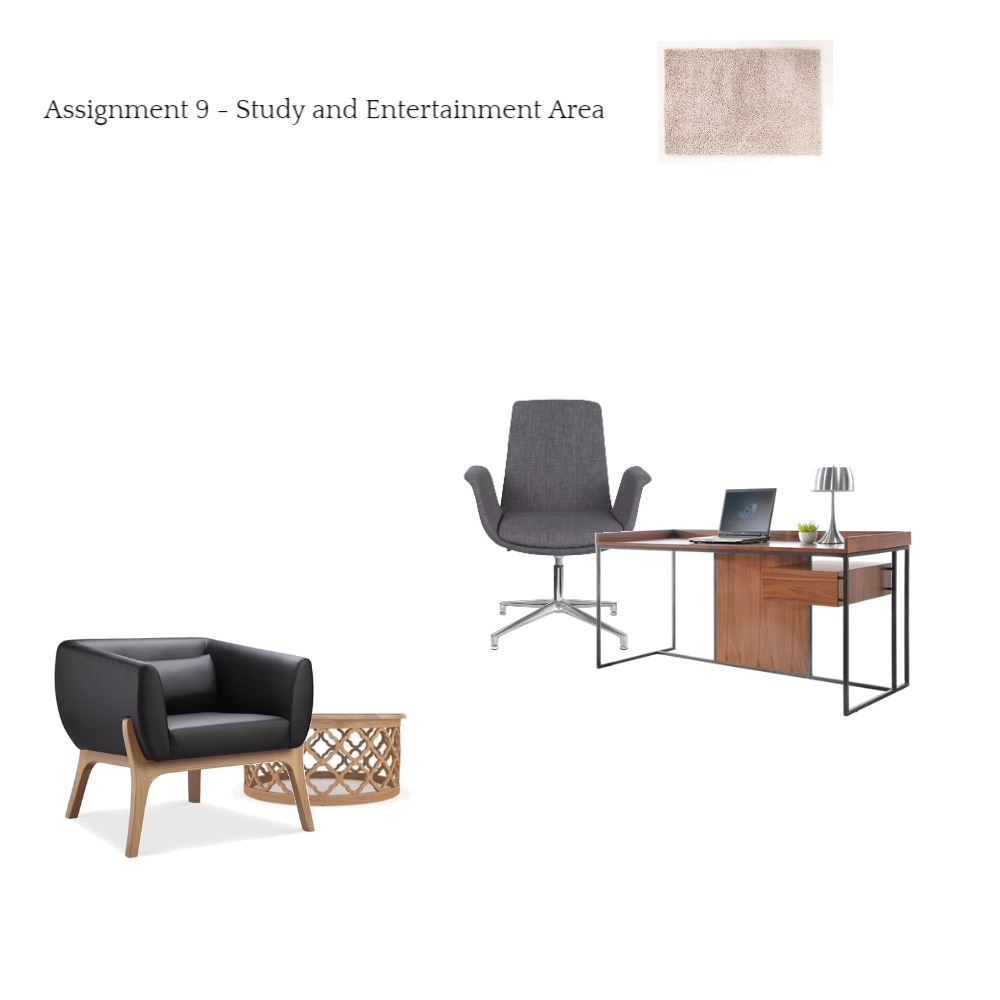 Study and Entertainment Area Mood Board by Eunicecyl on Style Sourcebook