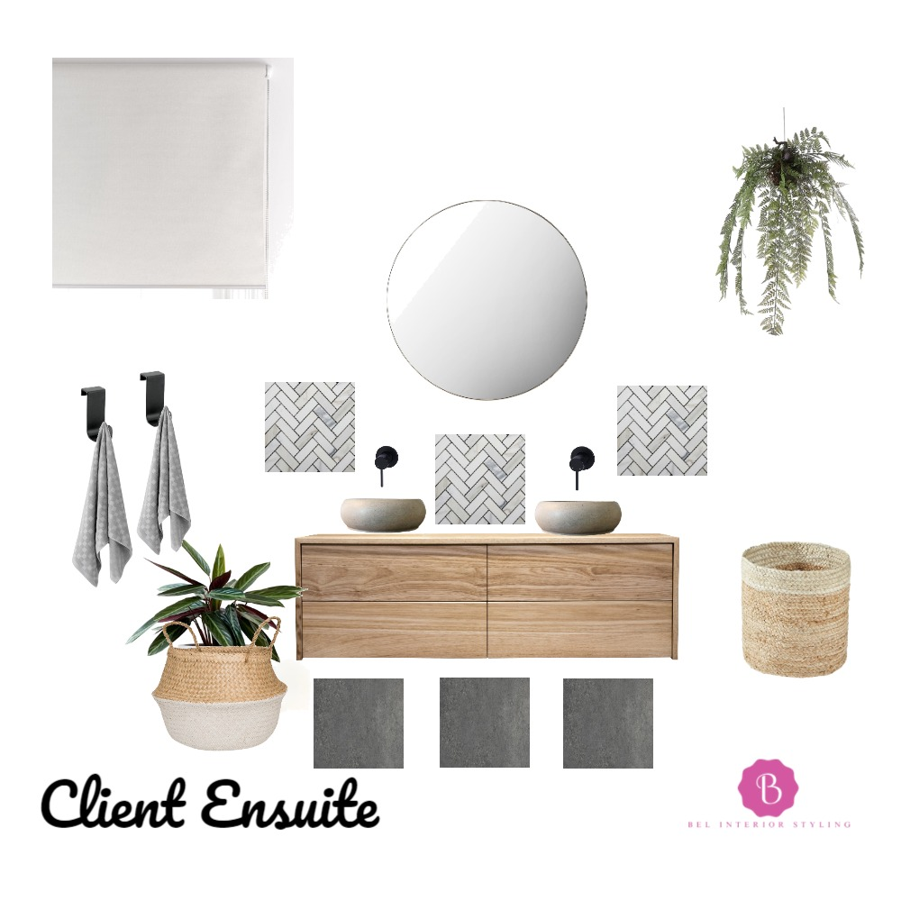 Ensuite Mood Board by Bel Interior Styling on Style Sourcebook