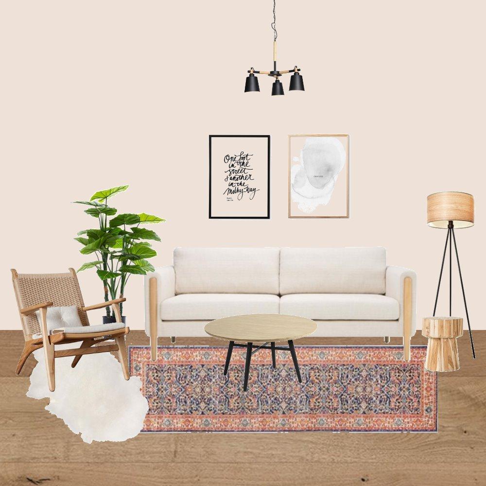 סלון פיני ורוד Interior Design Mood Board by yaelkoren on Style Sourcebook