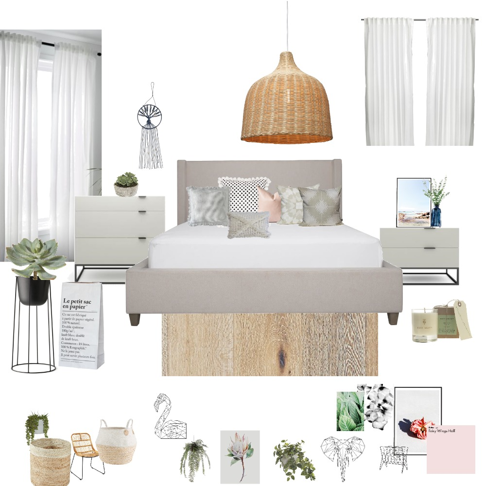 nathalie's bedroom Interior Design Mood Board by Adva14 on Style Sourcebook